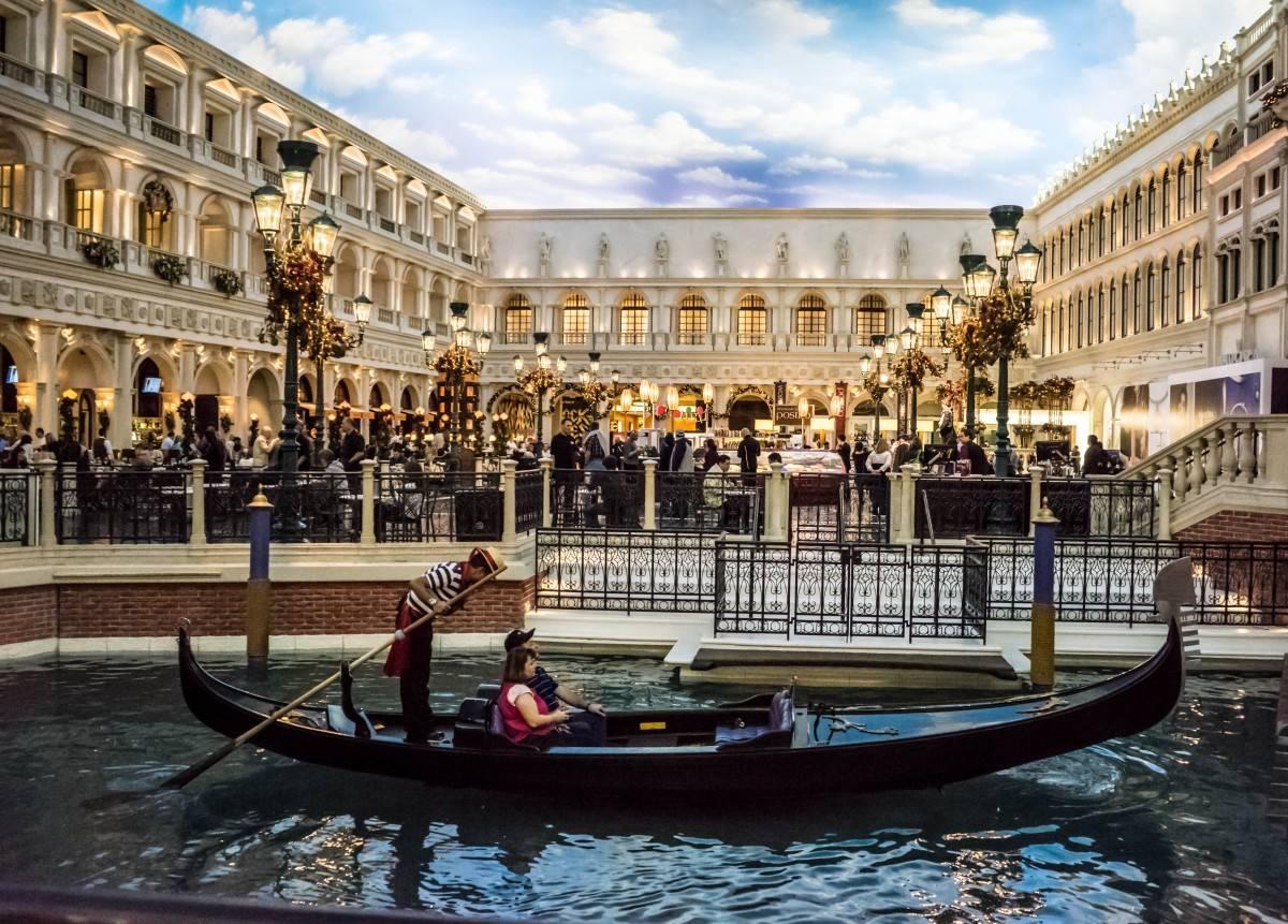 Gondole Venetian Hotel