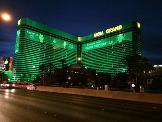 Hôtel MGM Grand de nuit