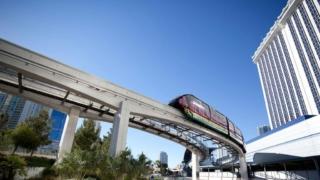Monorail Las Vegas Strip