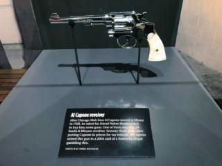 Mob Museum Revolver Al Capone