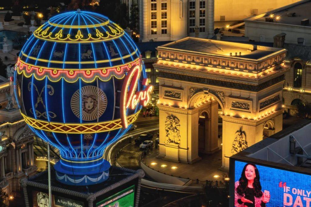 Arc de Triomphe Paris Hotel Las Vegas