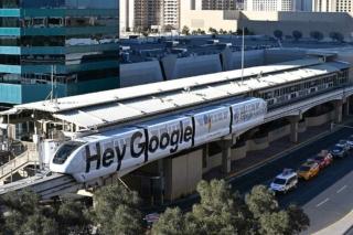 Monorail MGM Grand Hotel Strip Las Vegas