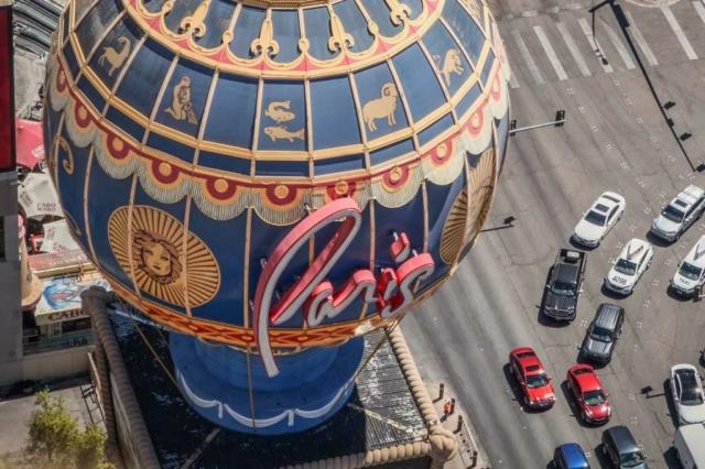 Montgolfière Paris Hotel Las Vegas