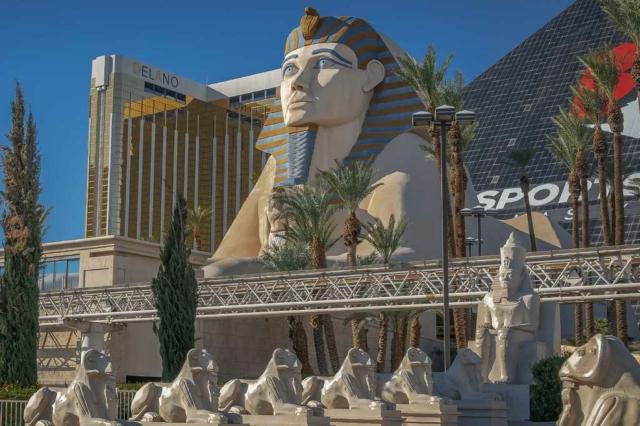 Sphinx Luxor Hotel Las Vegas