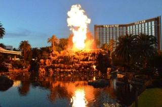 Volcan Mirage Strip Las Vegas